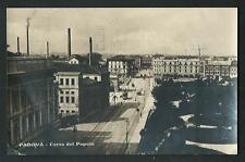 Padova : Corso del Popolo - cartolina viaggiata nel 1926 per la Germania