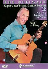 The Ultimate Gypsy Jazz/Swing Guitar Lesson: DVD 2, Very Good DVD, Paul Mehling,