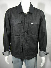 NWT CALVIN KLEIN JEANS Trucker Jacket with Wool Collar  Black Size XL