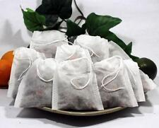"""Empty Woven Style Draw String Tea Bags 2.75"""" x 3.5"""" Highest Quality (100 pack)"""