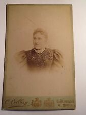 Bad Oeynhausen u. Herford - 1896 - Frau - Portrait / KAB