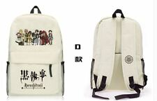 Black Butler Kuroshitsuji Backpack School Bag Shoulder bag Computer bag D style