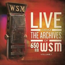650 Am Wsm Live From The Archives Volume (2013, CD NEU)