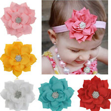 5pcs Baby Kids Girls Infant Toddler Flower Headband Hair Bow Band Accessories