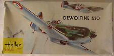 France Dewoitine 520 WWII, 1/72 Heller kit 092, NIB