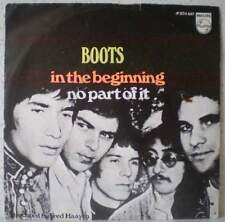 "BOOTS In the beginning (LISTEN) RARE 7"" 1968 pop-beat"