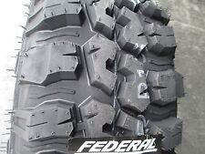 4 New 235/75R15 Inch Federal Mud Tires 235 75 15 2357515 75R R15 M/T MT
