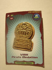 Disney VMK ( Virtual Magic Kingdom  ) Pirate Medallion Pin