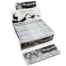 Highland Rolling Paper - Headquarter 24 Packs