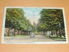 Postkarte : Church Street , Looking West, St. Catharines  1926 - sehr selten