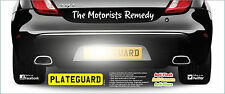 Volkswagen Audi Golf GTI Number Plate ONE PAIR Flash Protection by PlateGuard