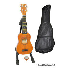 26 Tenor Ukulele Kit With Bag, Picks, Pitch Pipe, Maple/Brown Color