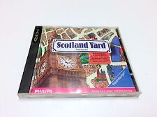 SCOTLAND YARD CDI CD-I PHILIPS EN BOITE ET NOTICE