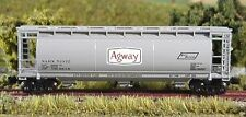 Z scale Full Throttle  ACF Covered 51' Hopper Agway 2 Car Set FT1029