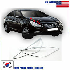 CHROME HEAD LAMP MOLDING TRIM (B629) HYUNDAI SONATA 2011-2014