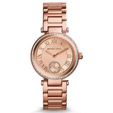 MICHAEL KORS Damen Armbanduhr Uhr Damenuhr Rose Gold MK5971 Skylar Kristall Neu