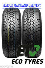 2X Tyres 235 65 R17 104H Superia/GoForm RS800 SUV E C 71dB