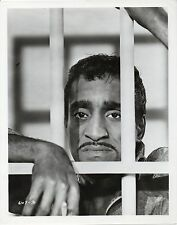 REPRIEVE 1962 Sammy Davis Jr. JAIL BARS 10x8 PORTRAIT
