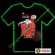 Blood Feast Horror T-Shirt by Fright Rags (Large) - NEW