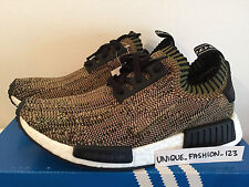 ADIDAS NMD RUNNER R1 GLITCH CAMO PACK US 6.5 UK 6 39 OLIVE PK PRIMEKNIT GREEN