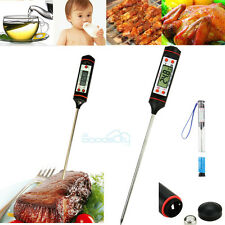 Digital Cooking Food Probe Meat Kitchen BBQ Oven Thermometer Temperature Sensor