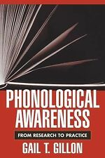 Challenges in Language and Literacy: Phonological Awareness : From Research...