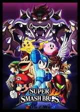 Super Smash Bro's - Huge Wall  Poster  20 x 30 ( Fast Shipping )  in Tube 101