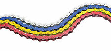 BIKE CYCLE BICYCLE BMX COLOURED CHAIN SINGLE SPEED 112 LINKS