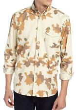 New with Tag - $225.00 Steven Alan Flap Pocket Collegiate Camo Shirt Size L