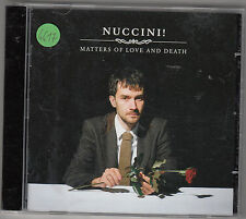 NUCCINI - matters of love and death CD