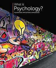 What is Psychology?: Foundations, Applications, and Integration, Pastorino, Elle