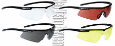 4 Pair Radians T72 Clear Smoke Yellow Copper Safety Glasses Sunglasses Z87.1