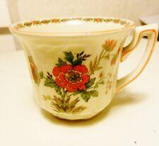 Demitasse Cup ONLY~Wildflower Pattern #3116~Myott Stafforshire England-Antique