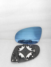 L+R SET Side Mirror Glass Heated W/Holder FIT FOR VW EOS Golf Jetta Blue Tinted