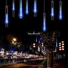 20cm 80LED Meteorschauer Regen Lichter Wasserdicht 8 Tubes String für Weihnachte