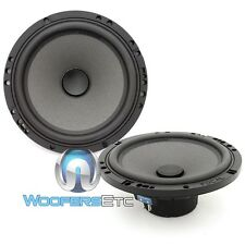 "FOCAL CAR AUDIO POLYGLASS 6.5"" MID WOOFERS FROM ISN165 COMPONENT SPEAKERS PAIR"