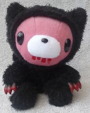Official Chax GP TAITO Gloomy Bear Black Pink Cat Soft Plush Toy Japan Kawaii 8""