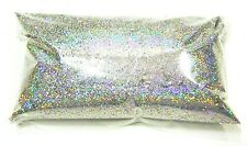 "6oz / 177ml Silver Jewels Holographic Metal Flake .015"" Paint Additive LF066"