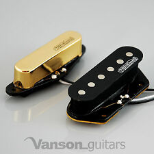 NEW Wilkinson 60's Vintage Voice Pickups for Tele®* guitars, Gold MWVTN N&B