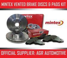 MINTEX FRONT DISCS PADS 256mm FOR OPEL VECTRA A 2000/GT 16V 4X4 CAT 150 1990-95