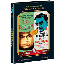 Five star final + Two seconds **Dvd R2** Edward G. Robinson