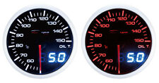 52mm Celsius Depo Racing Digital Oil temperature gauge White WA5247LED-Cel
