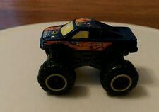 2012 Mattel McDonald's Kids Meal Blue Monster Truck Collectible plastic toy car