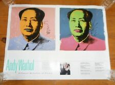 Andy WARHOL Chairman MAO Pop Art Litho Poster 24 x 18