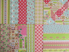 """Sample pack - Dovecraft Serendipity 6x6"""" scrapbook backing papers x12"""