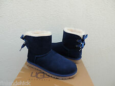 UGG NAVY DIXI FLORA PERF MINI BAILEY BOW SHEEPSKIN BOOTS,  US 11/ EUR 42~ NIB