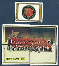 1979 Panini World Hockey Team West Germany (BRD), Set of 23