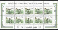 Moldova 1994 European Football Championships/Soccer/Sports/Games 10v sht n39445