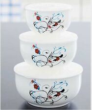 6-PS BUTTERFLY CERAMIC BOWL SET