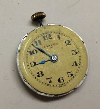 VINTAGE lANCET POCKET 15 JEWELS  WATCH MOVEMENT For Parts/Repairs. O#10